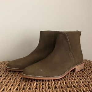 Free People Leather Century Flat Boot size 38 $148
